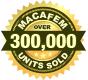250,000 unit sold icon